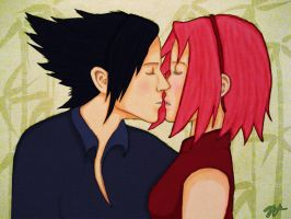 .: SasuSaku :. by tanya1