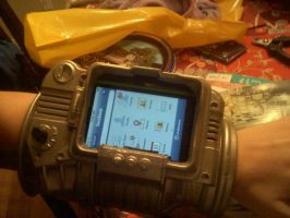Pip-Boy 3000 WIP by JPTuesday