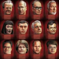Kremlin Boardgame - Classic Game Heads by anderpeich