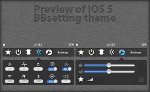 BBSettings Theme preview by kev95570
