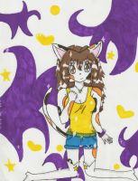 Purple and Yellow stuff by cali-cat