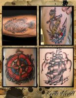Tattoo layout 2 by Agreus