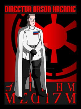 Officers of the Empire- Director Orson  Krennic by TheScarletMercenary