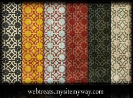 Grungy Retro Patterns - Part5 by WebTreatsETC