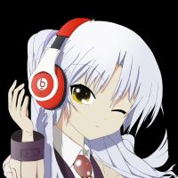 Tachibana Kanade, Angel Beats by Dr. Dre by Eximiris