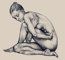 Figure Study by IndianRose