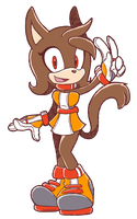 CM: Jasina The Cat Sonic Riders style by shadowhatesomochao