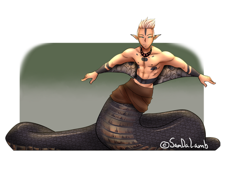 [CLOSED] Male Naga Adopt Auction by SamDaLamb