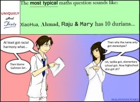 Uniquely and Truly: Maths Question by MalaysianOtaku