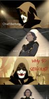 Why so serious Chief Beifong? by temptedbythings
