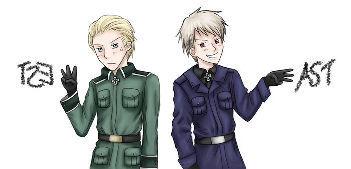 APH - East and West by Mosrael-the-Waker