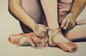 The Ballerina Shoes by MalakElMasry