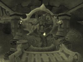 Shrine of Queen Azshara by Andicous