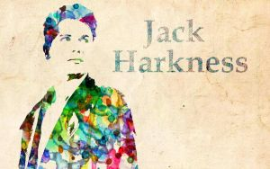 Jack Harkness: Watercolor by ElijahVD