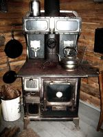 old oven stove by Mind-Illusi0nZ-Stock