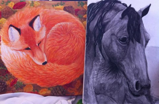 Traditional paintings by Wolveslair