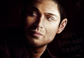 Happy Birthday Dean by usarechan
