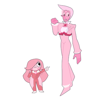 Pink Gem Adopts (CLOSED) by Blissful-Rouzes