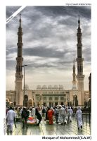 Beautiful Madinah by bx
