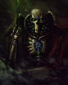 Curse of the Necrontyr by JacobTwitchellArt