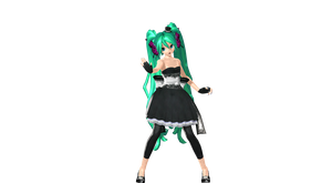 MMD DT Magnet Miku Finished by willianbrasil