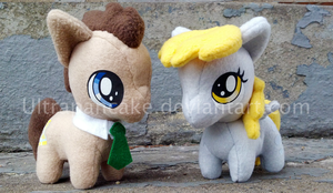 The Doctor And Derpy SOLD by UltraPancake