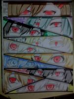 Kagerou Project- MCA - Eye abilities by redichiyami