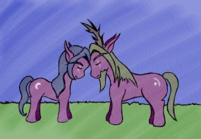 Tyrande and Malfurion- MLP-ized by Moons-Wing