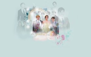 The golden Trio - HP Wallpaper by Tiinkerbellx3