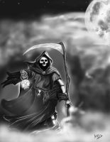 Grim Reaper by Airpainter13