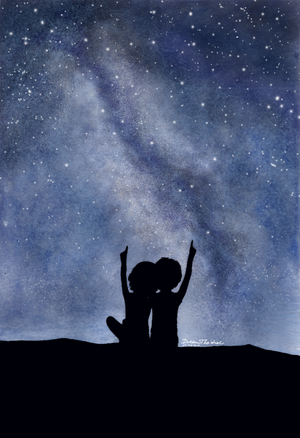 Look at the stars... by DreamThestral