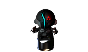 Space Munny by DefectiveGaurdian