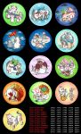 Okami Buttons by Birvan
