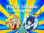 Keychains: Panty and Stocking by nikkaroo