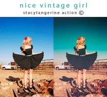 nice vintage girl by stacytangerine