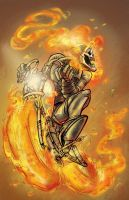 The Ghost Rider by pmason83