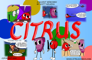 Citrus Cover Contest Entry by Collon28