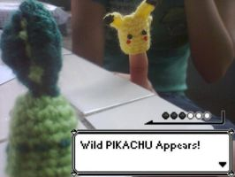 Wild Pikachu Appears! by AmiAmaLilium