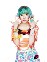 SNSD Sunny Kiss Me Baby-G Casio ~PNG~ by JaslynKpopPngs