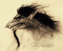 Maccabe dragon by elicenia