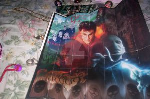 harry potter bookmark poster by patorishikulove