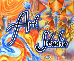 Art Studio Sign by tiffc