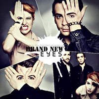 Brand New Eyes album cover by Miss-Machi