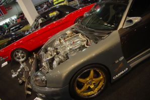 Toyota Dragster by Heavymedicated