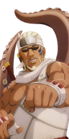 Killer Bee Render by xUzumaki