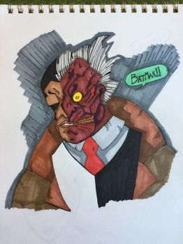 Two-Face by nickmandl