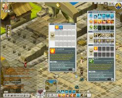 wakfu MMO: UI for optionnals spells by Sevpoolay