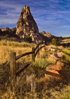 Garden of the Gods formations by PaulGana
