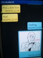 Texting:True story momment by JenniKittyMuffin
