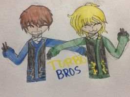 Turbo Bros FANART by H4nn4h-Z4m1r4